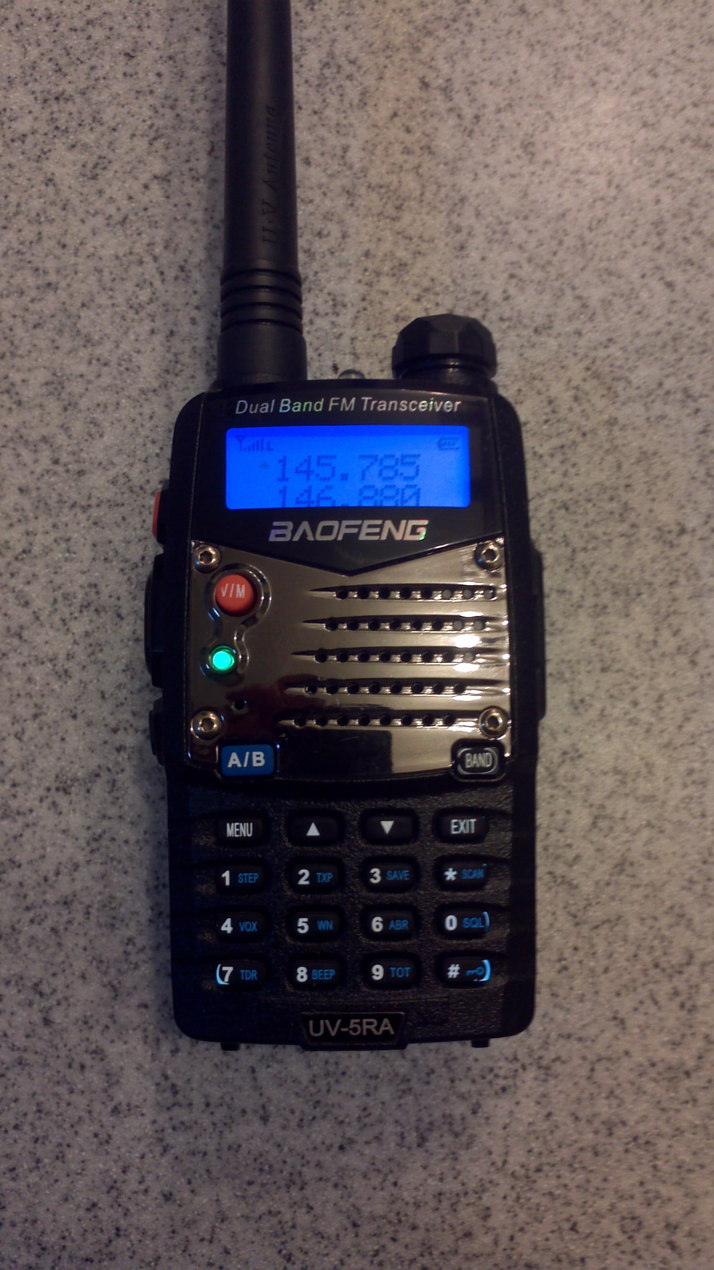 Sending Accurate Baofeng DTMF Tones from the UV-5R